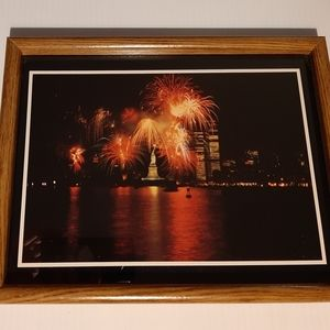 New York City Twin Towers Framed Photo/Artwork